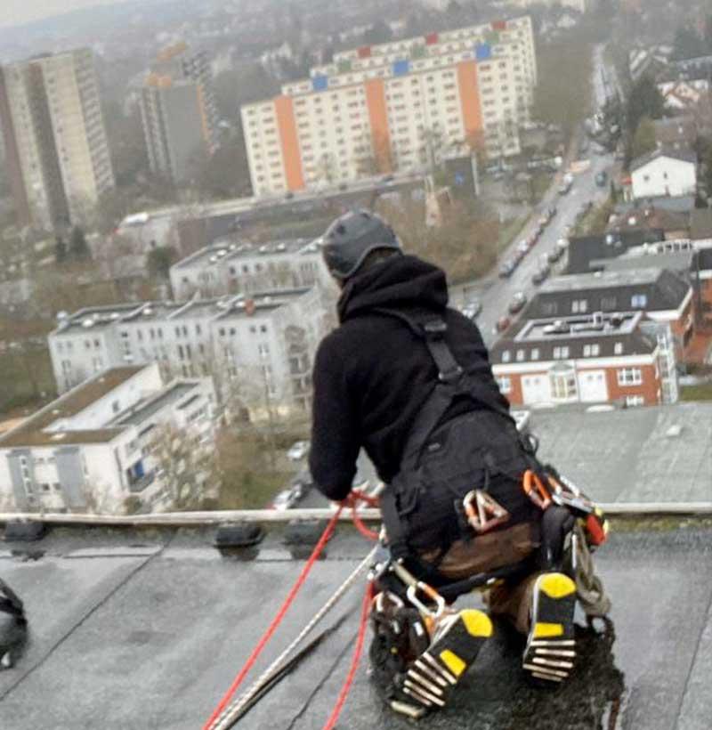 TS-Industriekletterer Fassadenreinigung Fassadensanierung Berlin